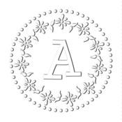 CE-70044 - Monogram Embosser Style CE-70044