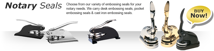 Order your Notary Stamps and Seals from A to Z Rubber Stamps today. Amazing Service and Great Pricing. Order online or call today to order your notary supplies, we are ready to serve you.