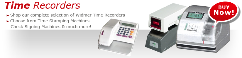 TIME RECORDERS