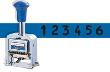 Rubber Faced Wheel Automatic Numbering Machine