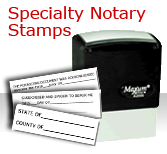 SPECIALTY NOTARY  STAMPS