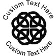Celtic Embossing Seal. Choose your mount and view your custom text in a live preview. Find all your custom embossing needs at Embossingseal.com