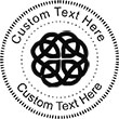 Celtic Embossing Seal. Choose your mount and view your custom text in a live preview. Find all your custom embossing needs Embossingseal.com