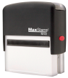 """Perfect for many applications, including short messages, signatures, labeling, custom artwork and logos Impression Size: 7/8"""" x 2 3/8  AtoZstamps.com"""