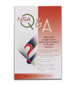 NSAQA - Notary Signing Agents Q&A