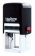 """MaxStamp SI-5050 is light weight, has a medium size frame and is made from compact plastic. This stamp features ergonomically designed precision components for a smooth, dependable, quiet action.   Impression Size: 2"""" x 2"""""""