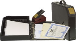 """Introducing the newest addition to our Corporate LLC Kit line of products.  The """"LLC Attaché®"""" all in one corporate records system.  It has been designed to keep all of your important organizational documents secure and available.   This stylish kit incor"""